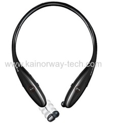 New LG Tone Infinim Premium HBS900 Bluetooth Stereo Handsfree Earbud Headphones With Retractable Wire Management
