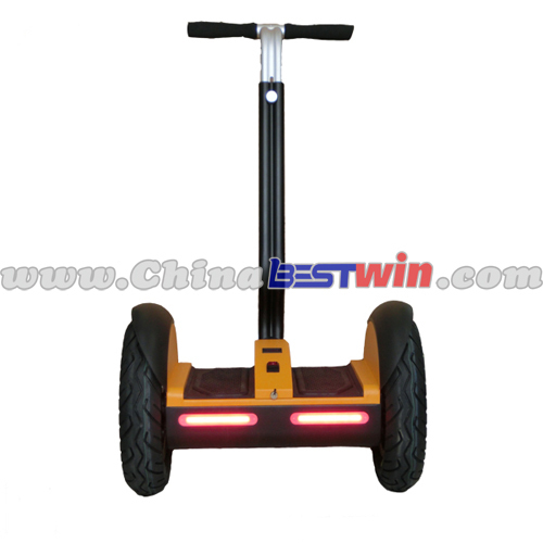 Mini balanced scooter wheel with led