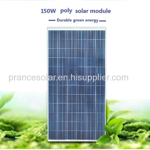 Poly PV Solar panel with IEC TUV CE CEC