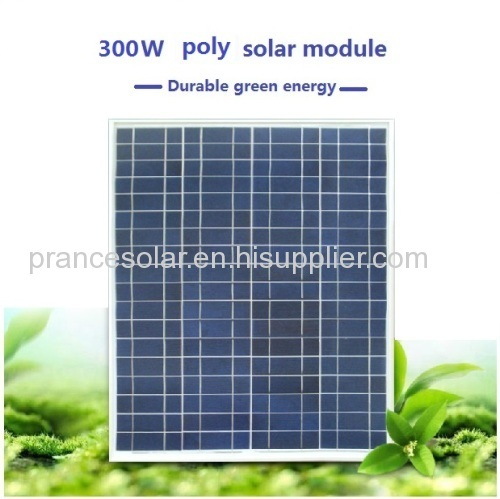 Solar panel 300w poly with good quality and price