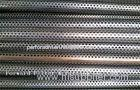 Welded Perforated Metal Tube / Perforated Copper Pipe For Oil Well