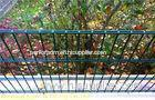 Double Galvanized Steel Welded Wire Mesh Coated Fence Panels For Playground