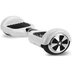Two Wheels Board Smart Scooter Self Balancing Unicycle Electric with Bluetooth Speakers and LED Light