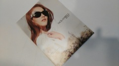 Stardream paper cover softback clothing fashion magazine printed for garment company