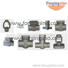 Valve flange & pipe fittings parts