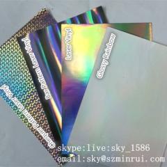 A4 Hologram Destructible Vinyl Film