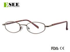 Unisex designer metal reading glasses