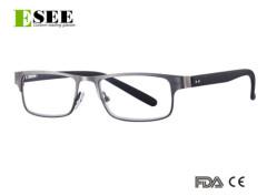 Unisex stainless steel reading glasses