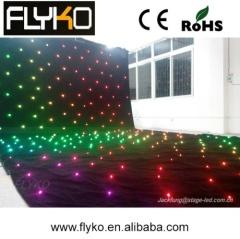 china supplier led lighting led star curtain LED dj star light curtain