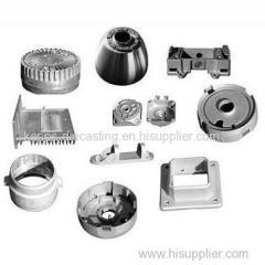 Automotive zinc die casting parts manufacturer