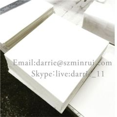 Self-adhesive label material wholesale for printing ultra destructible vinyl Eggshell sticker