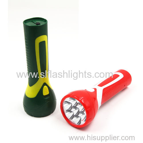 Rechargeable Led Torch Light With 7 LED