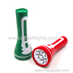 9 led rechargeable torch light