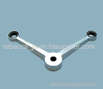 Stainless steel spider fitting ( 2-way with 90°)