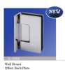 Shower Hinge / Glass Door Hinge / Screws Invisible on the Panel