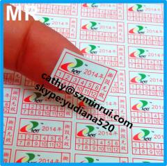 fragile paper minrui custom warranty void labels