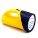 Plastic Handle Flashlight Dry Battery
