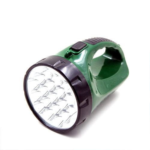 Plastic 19LED Rechargeable Hand Flashlight