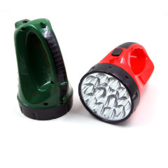 15LED plastic rechargeable emergency flashlight