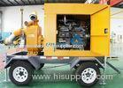 Trailer mountred diesel centrifugal water pump for irrigation 100m/h 15m head