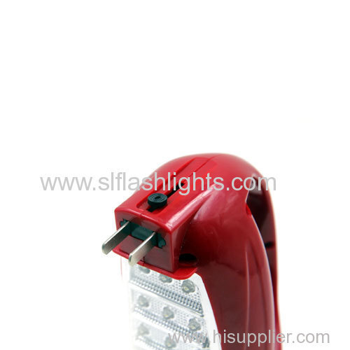 13+12LED rechargeable hand lamp
