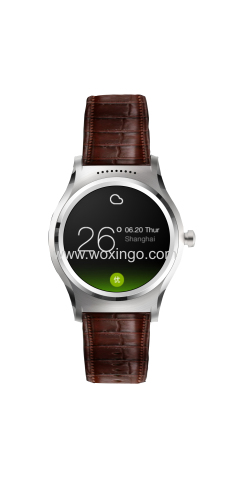 3G/2G android wear smart watch with sim card phone call