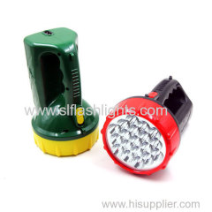 19LED Rechargeable Hand flashlight