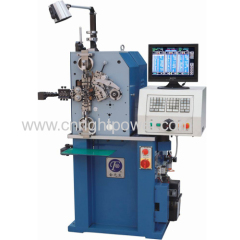 0.12mm-1.0mm CNC spring coiling machines