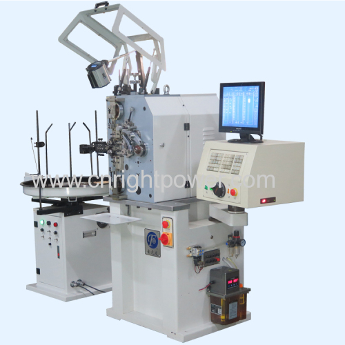 0.12-1.0mm full-function computer spring coiling machine