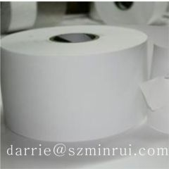 Real manufacturer of warranty label material China largest factory of producting destructible vinyl paper