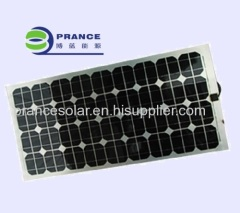High efficiency semi flexible solar panel 60w