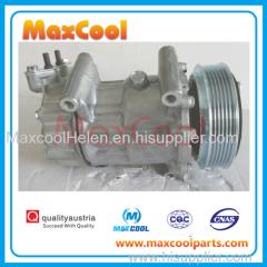 Sanden1450 1908 1449 sanden6V12 auto ac compressor for Citroen C2 C3 Xsara Berlingo for Peugeot 206 307 Partner 96551915