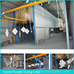 Powder Coating and Curing Ovens