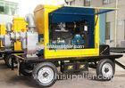 Mobile and silent type Self Priming Diesel Pump 800m3/h flow 14m lift