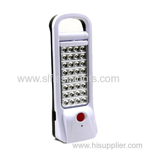 32LED Plastic Rechargeable Emergency Flashlight