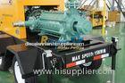 Trailer mounted fire fighting diesel engine pump for municipal emergency situation