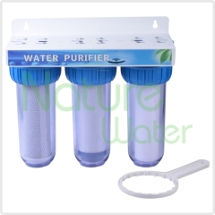 triple undersink water filter