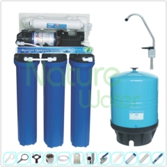 100-600 GPD Commercial auto-flush RO Water Filter Systems