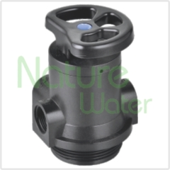 Manual softening control valve