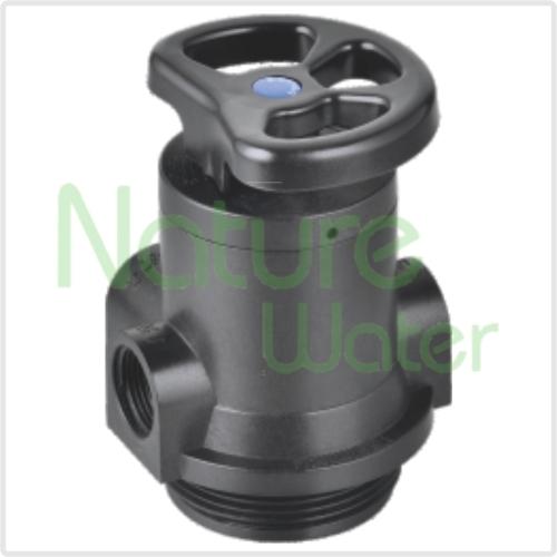 Manual softening control valve