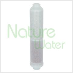Cartouches filtrantes minérales avec bille aluminisée et infrarouge minéralisée