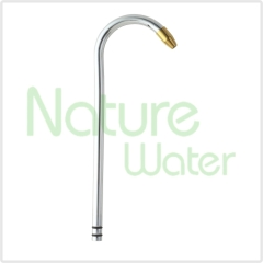 pipe for counter top water filter