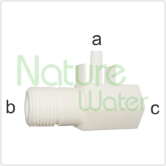 Plastic water feed adaptor
