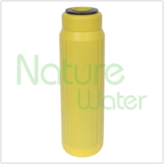 yellow resin filter cartridge