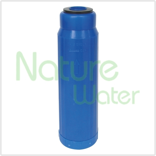 blue resin/KDF filter cartridges