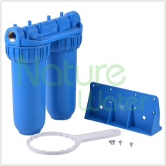 undersink double bule housings water filter