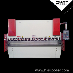 hydraulic plate bending machine