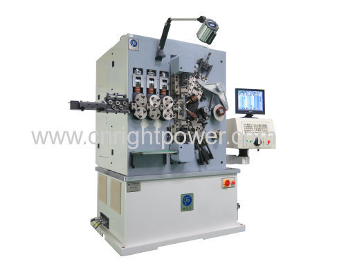 1.6-4.0mm Full-featured spring coiling machine