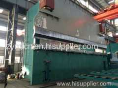 2-WC67K high pole Steel Plate Hydraulic Tandem Bending Machine