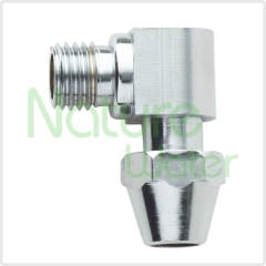 metal fitting for counter top water filter